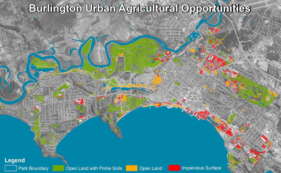 Municipal Food Systems Planing  - Finding Space for Urban Agriculture